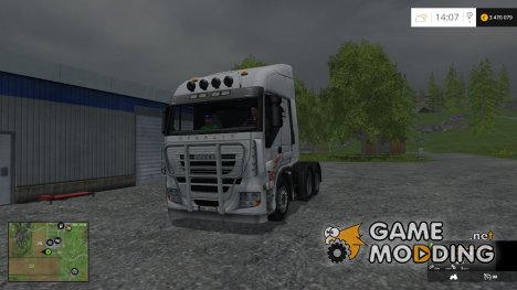 Iveco Stralis AS 600 v 2.0 for Farming Simulator 2015