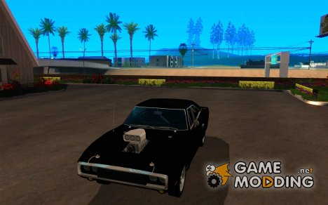 Dodge Charger FnF для GTA San Andreas