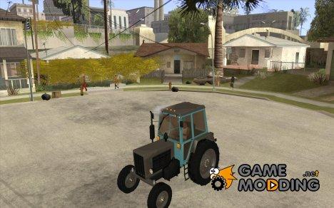 Трактор Беларусь 80.1 и прицеп for GTA San Andreas