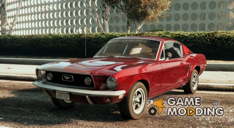 1968 Ford Mustang Fastback for GTA 5