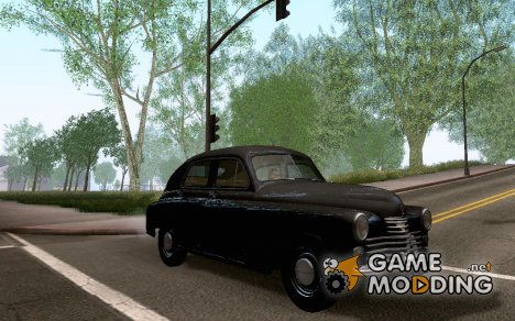 "GAZ M20 ""Pobeda"" 1949 for GTA San Andreas"