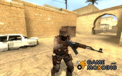 Desert Camo Urban для Counter-Strike Source