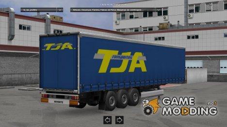 TJA Profiliner для Euro Truck Simulator 2