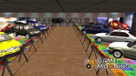 Новый скрытый гараж в Криминальной России для GTA San Andreas
