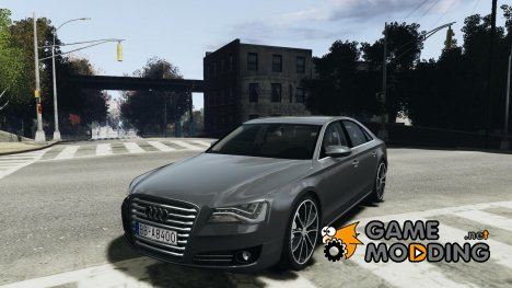 Audi A8 (D4, Typ 4H) 2010 Alpha for GTA 4