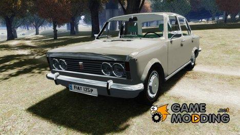 Fiat 125p Polski 1970 для GTA 4