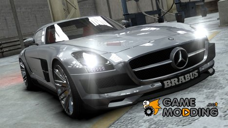 Mercedes-Benz SLS 2011 AMG Brabus Widestar for GTA 4