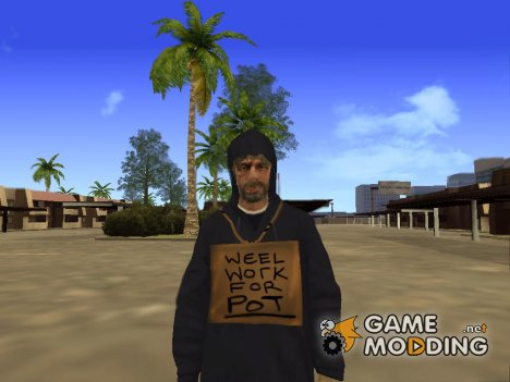 Homeless for GTA San Andreas