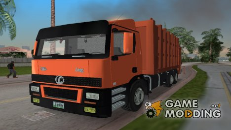 Lexx 198 Garbage Truck for GTA Vice City