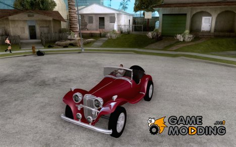 Jaguar SS 100 for GTA San Andreas