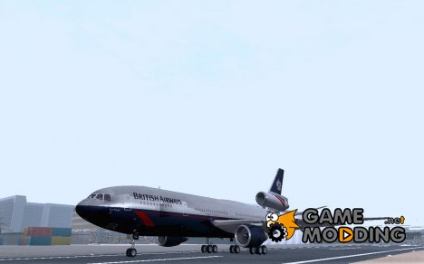 McDonell Douglas DC-10-30 British Airways для GTA San Andreas