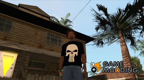 Футболка Черепок для GTA San Andreas