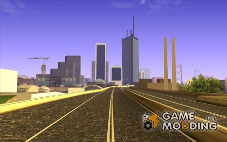 New roads San Fierro для GTA San Andreas