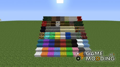 Stairs Craft Mod для Minecraft