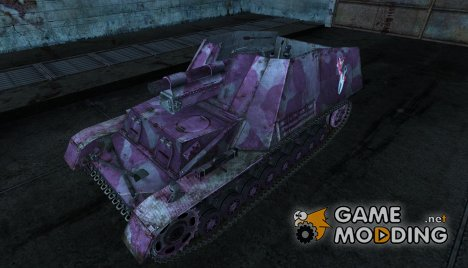 "Шкурка для Hummel ""Pink for the ladies"" для World of Tanks"