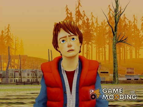 Marty Mcfly 1980 for GTA San Andreas