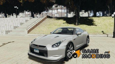 Nissan GT-R R35 2010 v1.3 for GTA 4