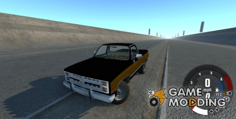 Chevrolet Silverado 1500 1986 for BeamNG.Drive