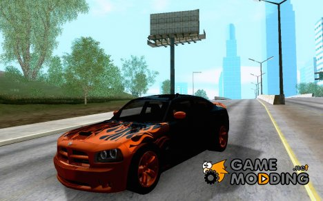 Dodge Charger SRT-8 Tuning для GTA San Andreas