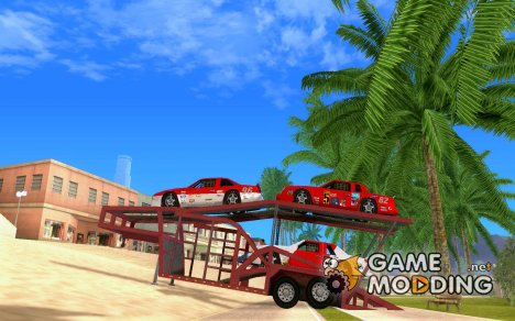 Прицеп Автовоз for GTA San Andreas