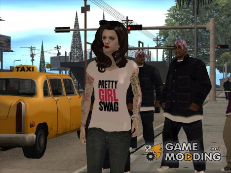 Pretty Girl Swag for GTA San Andreas