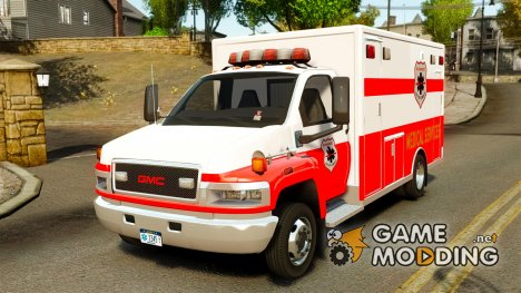 GMC C5500 Topkick Ambulance for GTA 4