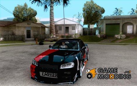 Nissan Skyline R34 Evil Empire for GTA San Andreas