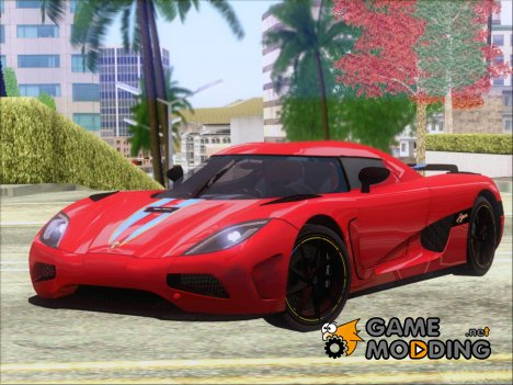 Koenigsegg Agera 2011 for GTA San Andreas
