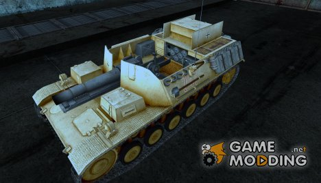 Шкурка для Sturmpanzer II for World of Tanks