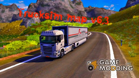 Just play for the tsm map v6.3 for Euro Truck Simulator 2