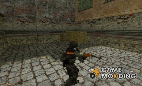 Le Peste Noir (skullface, all black urban) для Counter-Strike 1.6