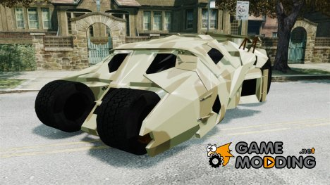Batman Army Tumbler HQ Retextured for GTA 4