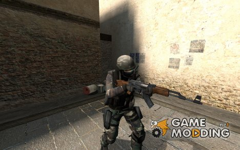 Multicamo Soldier для Counter-Strike Source