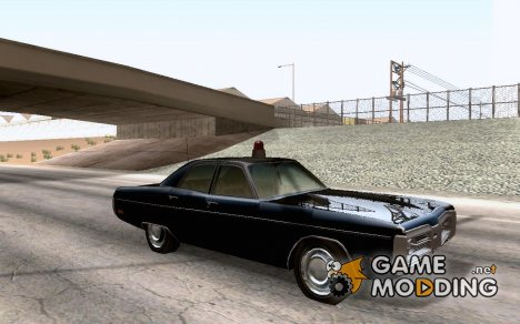 FL Plymouth Fury III Baker County Sheriff for GTA San Andreas
