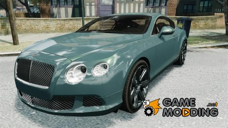 Bentley Continental GT 2011 [EPM] v1.0 для GTA 4