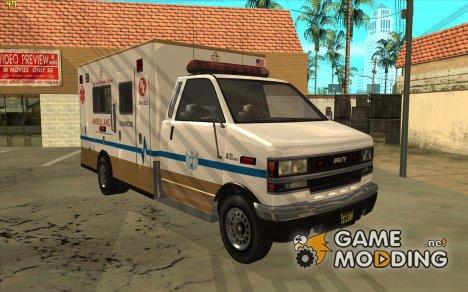 GTA 5 Brute Ambulance for GTA San Andreas
