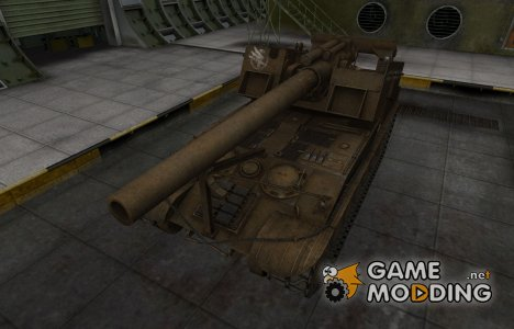 Скин в стиле C&C GDI для T92 for World of Tanks