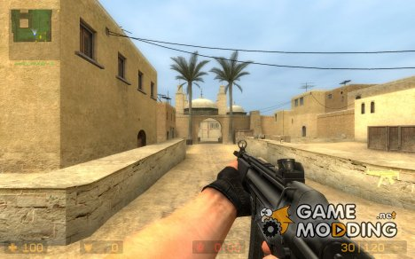 Eviltiki100's Mp5 Animations update1 for Counter-Strike Source
