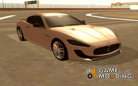 Maserati GranTurismo MC Stradale for GTA San Andreas