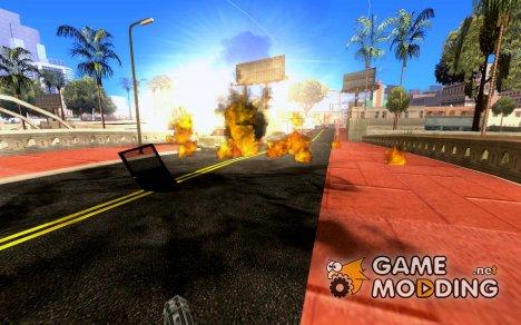 Новые Эффекты 1.0 for GTA San Andreas