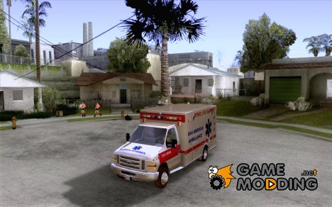 Ford E-350 Ambulance v2.0 для GTA San Andreas
