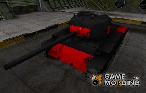 Черно-красные зоны пробития T20 для World of Tanks
