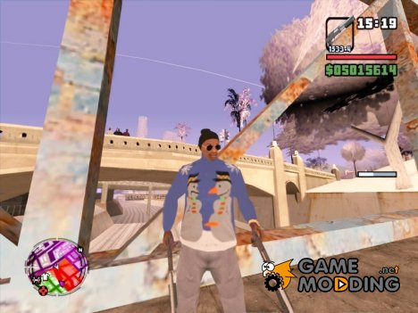 "Свитер ""снеговики"" для GTA San Andreas"
