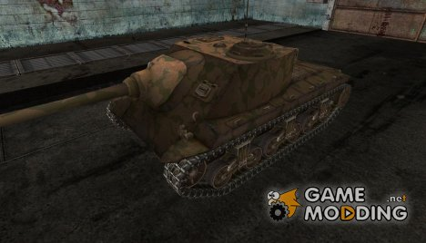 шкурка для T25 AT №7 for World of Tanks