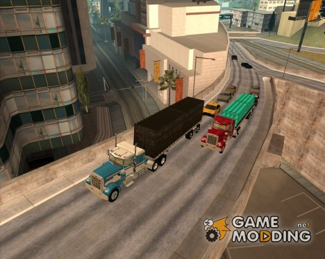 FlatBed Trailer for GTA San Andreas