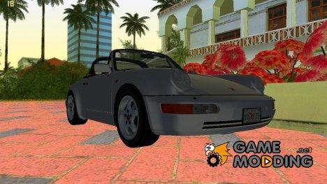 Porsche 911 (964) Carrera 4 Targa 1989 для GTA Vice City