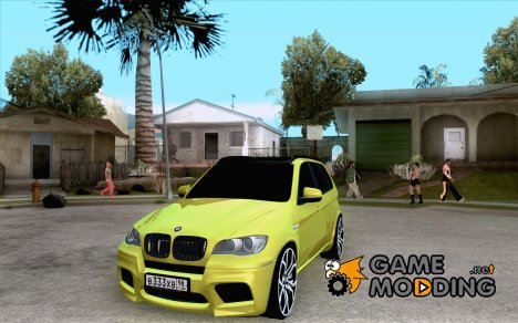 BMW X5М Gold for GTA San Andreas