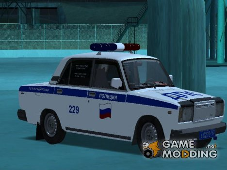 ВАЗ 2107 ДПС for GTA San Andreas