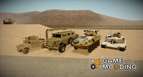 Realistic Military Vehicules Pack for GTA San Andreas