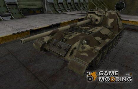 Пустынный скин для СУ-100М1 for World of Tanks
